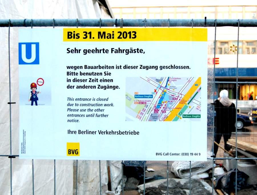 U-Bf Rathaus Steglitz Südwesteingang 301212