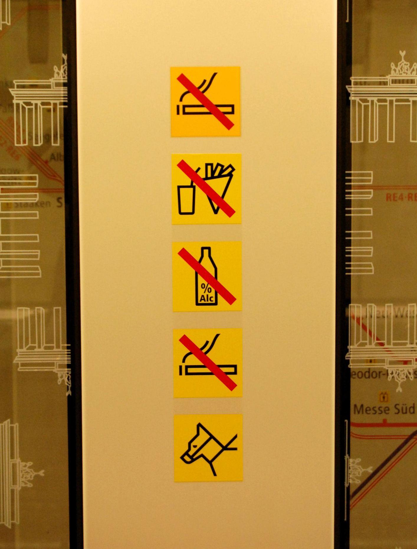 Rauchen doppelt verboten