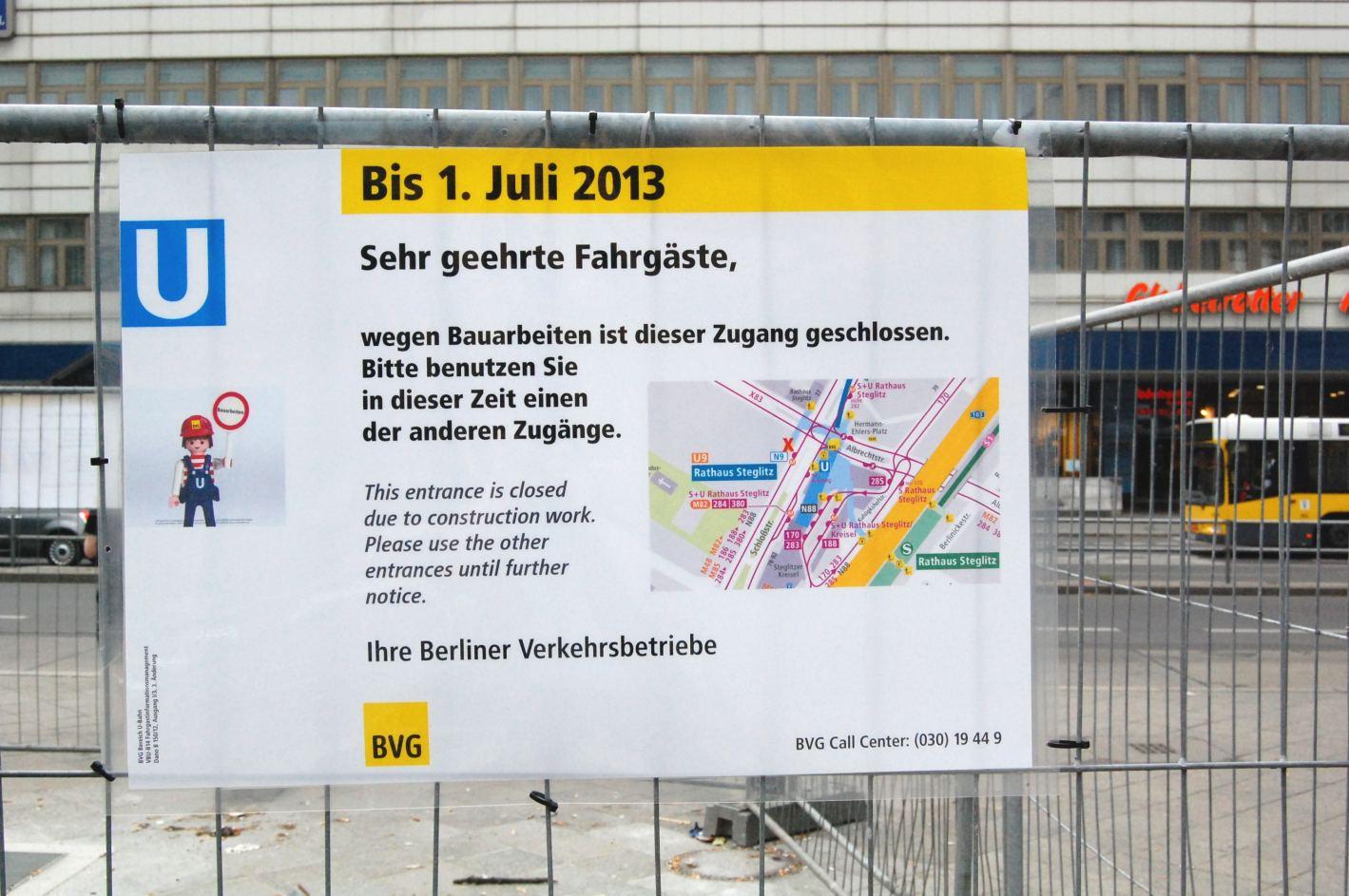 U-Bf Rathaus Steglitz 090613