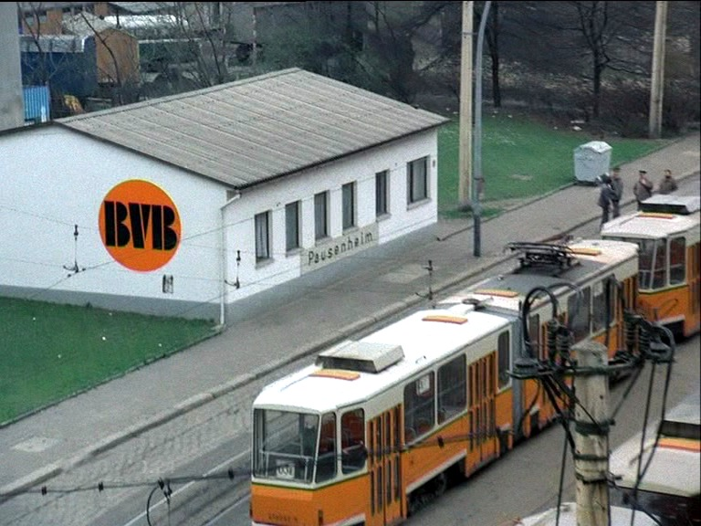 Heute längst verschwunden: BVB-Pausenheim an der Großen Präsidentenstraße