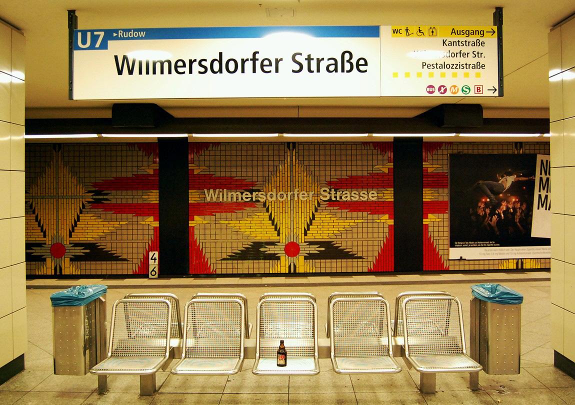 Stilleben aus der Berliner U-Bahn