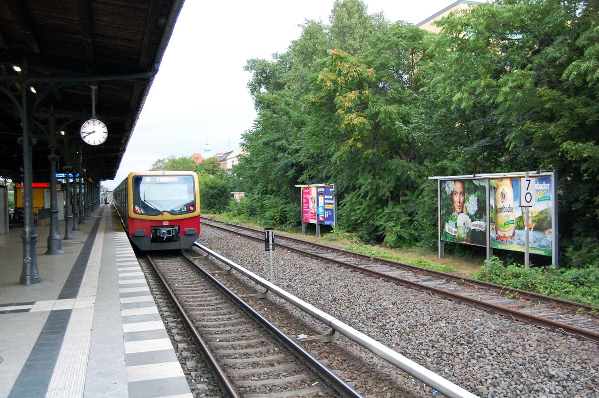 Andere Züge werden hier so bald bestimmt nicht fahren
