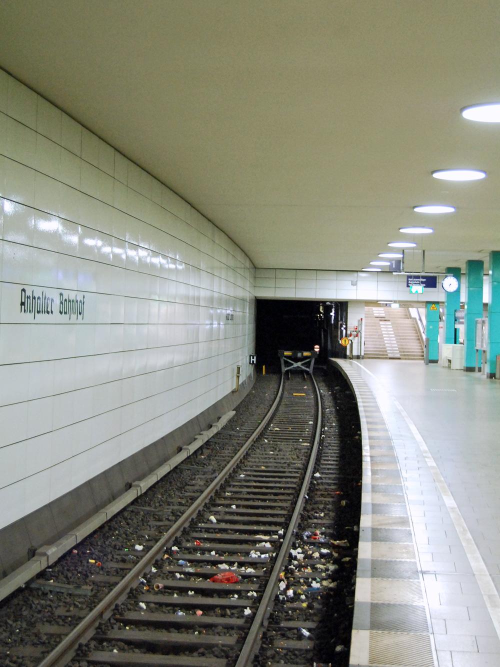 Die Berliner haben dennoch eine Verwendung für das Gleis gefunden.
